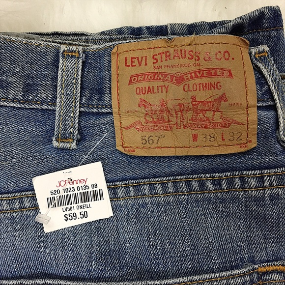 d3ed8140b19 Levi's Jeans | Nwt Mens Levis 567 Loose Bootcut Size 38x32 | Poshmark